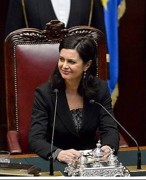 Totalit it laura boldrini nuovo presidente della camera for Presidente della camera attuale
