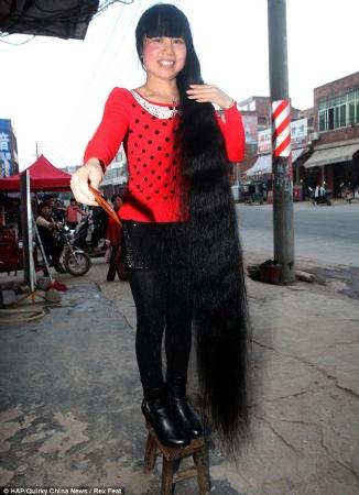 Totalità.it - Una donna cinese non taglia i capelli da ...