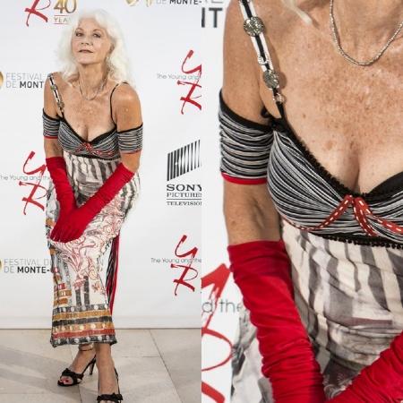 307fb363bd Linda Thorson, la simpaticissima e bella signora di The Avengers è ancora  niente male... a parte l'abbigliamento! Voto 4